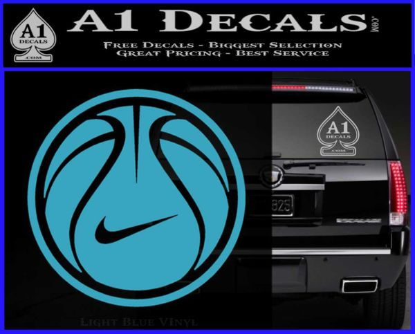 Nike Basketball Decal Sticker 187 A1 Decals