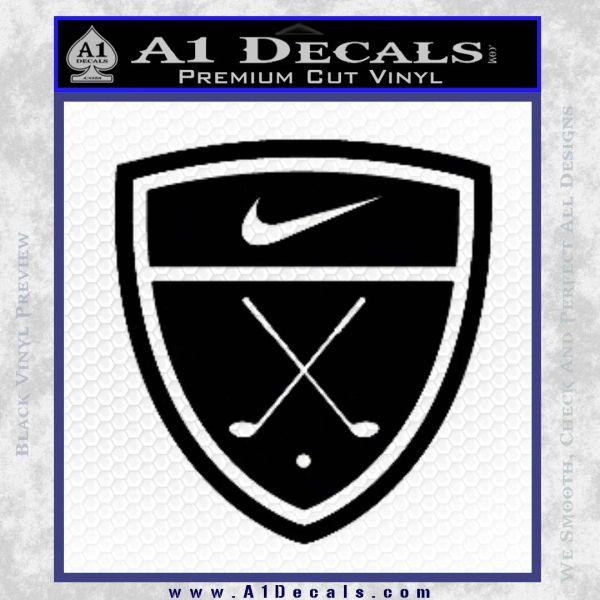 Nike Golf Decal Sticker Badge 187 A1 Decals