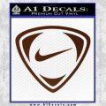 Nike Golf Decal Sticker TR BROWN Vinyl 120x120