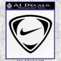 Nike Golf Decal Sticker TR Black Vinyl 120x120