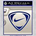 Nike Golf Decal Sticker TR Blue Vinyl 120x120