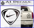 Nike Golf Decal Sticker TR Carbon FIber Black Vinyl 120x97