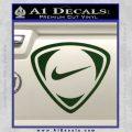 Nike Golf Decal Sticker TR Dark Green Vinyl 120x120