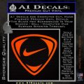 Nike Golf Decal Sticker TR Orange Emblem 120x120