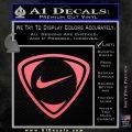Nike Golf Decal Sticker TR Pink Emblem 120x120