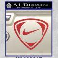 Nike Golf Decal Sticker TR Red 120x120