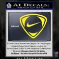 Nike Golf Decal Sticker TR Yellow Laptop 120x120
