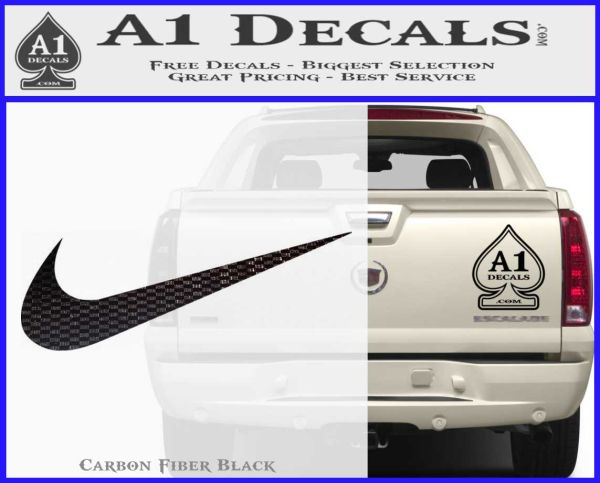Nike Swoosh  Pack Decal Sticker  A Decals - Custom vinyl decals for rc cars