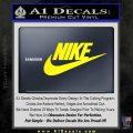 Nike Swoosh Decal Sticker Full Yellow Laptop 120x120