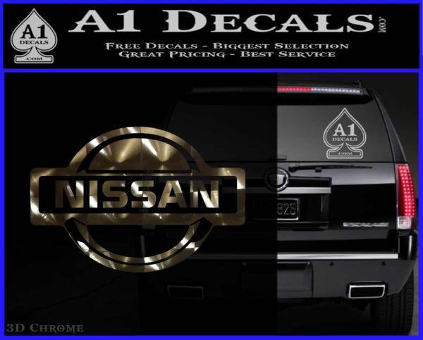 Nissan Decal Sticker Full » A1 Decals