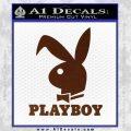 Playboy Bent Floppy Ear Full Decal Sticker BROWN Vinyl 120x120