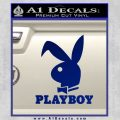Playboy Bent Floppy Ear Full Decal Sticker Blue Vinyl 120x120