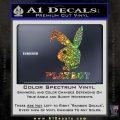 Playboy Bent Floppy Ear Full Decal Sticker Glitter Sparkle 120x120
