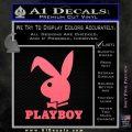 Playboy Bent Floppy Ear Full Decal Sticker Pink Emblem 120x120