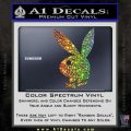 Playboy Bunny Head Decal Sticker Glitter Sparkle 120x120
