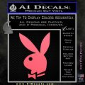 Playboy Bunny Head Decal Sticker Pink Emblem 120x120