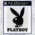Playboy Decal Sticker Full Black Vinyl 120x120