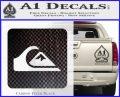 Quicksilver Clothing Decal Sticker D5 Carbon FIber Black Vinyl 120x97