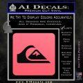 Quicksilver Clothing Decal Sticker D5 Pink Emblem 120x120