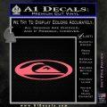 Quicksilver Clothing Decal Sticker D6 Pink Emblem 120x120