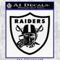 Raiders Mask Off Oakland Decal Sticker Black Vinyl 120x120