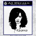 Rihanna D2 Decal Sticker Black Vinyl 120x120
