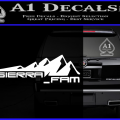 SIERRA FAM D1 DECAL STICKER W 120x120