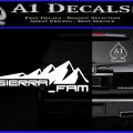 SIERRA FAM D1 DECAL STICKER W 120x120