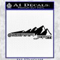 SIERRA FAM D2 DECAL STICKER BLACK 120x120