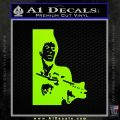 Scarface Say Hello Decal Sticker Lime Green Vinyl 120x120