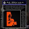 Scarface Say Hello Decal Sticker Orange Emblem 120x120