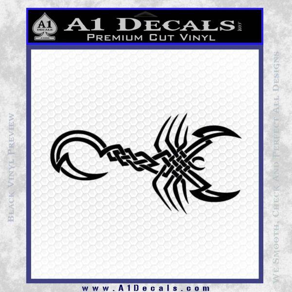 24ff6877b Scorpion Decal Sticker Tribal Scorpio » A1 Decals