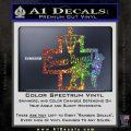 Service Dog Decal Sticker D4 Glitter Sparkle 120x120