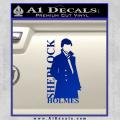 Sherlock Holmes Poster D1 Decal Sticker Blue Vinyl 120x120