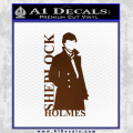 Sherlock Holmes Poster D1 Decal Sticker Brown Vinyl 120x120