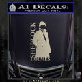 Sherlock Holmes Poster D1 Decal Sticker Metallic Silver Vinyl 120x120