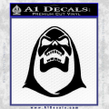 Skeletor Decal Sticker Black He Man Vinyl 120x120