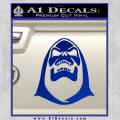Skeletor Decal Sticker He Man Blue Vinyl 120x120