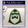 Skeletor Decal Sticker He Man Dark Green Vinyl 120x120