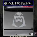 Skeletor Decal Sticker He Man Grey Vinyl 120x120