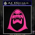 Skeletor Decal Sticker He Man Neon Pink Vinyl 120x120