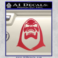 Skeletor Decal Sticker He Man Red Vinyl 120x120