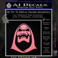 Skeletor Decal Sticker He Man Soft Pink Emblem 120x120