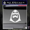 Skeletor Decal Sticker He Man White Vinyl 120x120