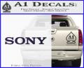 Sony Decal Sticker Purple Vinyl 120x97