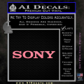 Sony Decal Sticker Soft Pink Emblem 120x120