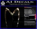 Speed Racer Mach5 Logo Decal Sticker 3DC Vinyl 120x97