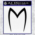 Speed Racer Mach5 Logo Decal Sticker Black Vinyl 120x120