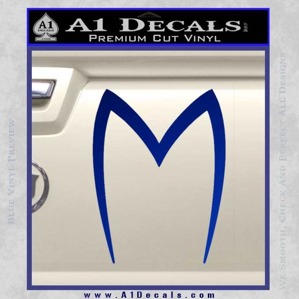 Speed Racer Mach 5 D1 Decal Sticker Hood M 187 A1 Decals