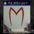 Speed Racer Mach5 Logo Decal Sticker DRD Vinyl 120x120